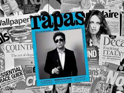 """Yerba Mate Taragüi - Yerba Mate on the cover of """"Tapas"""" Magazine"""