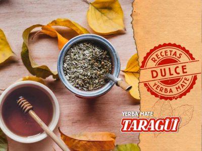 Yerba Mate Taragüi - Receta para preparar un mate dulce