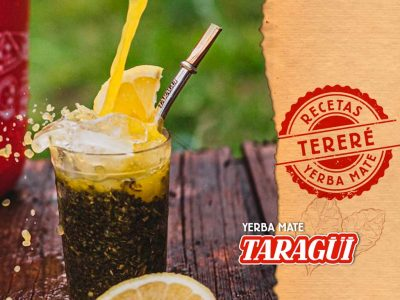 Yerba Mate Taragüi - Receta para preparar un buen tereré (mate frío)