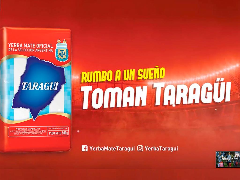 Yerba Mate Taragui, compañera del deporte